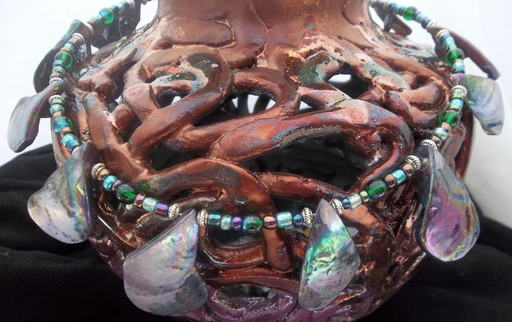 Genuine Abalone Choker - GORGEOUS!
