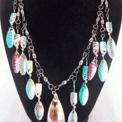 One of a kind ~ Fishing Lure Necklace