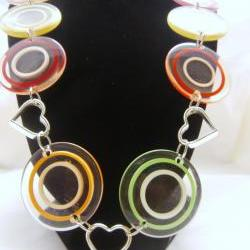 Retro 70's Lucite Necklace