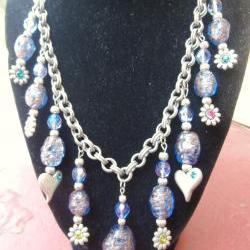 Hearts and Flowers Necklace